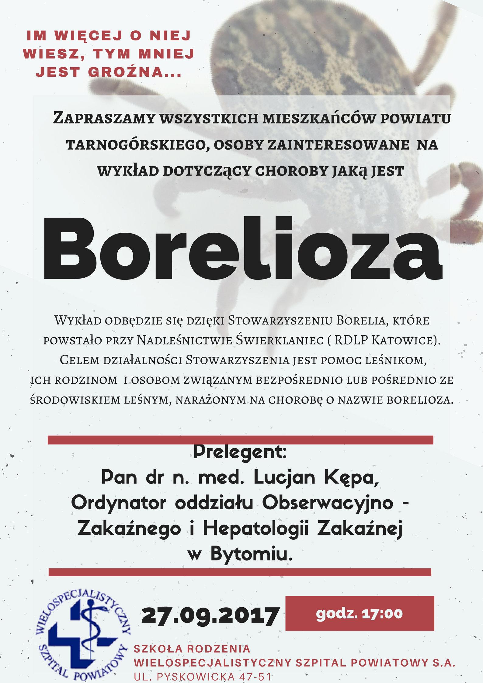 Borelioza – wykład o chorobie