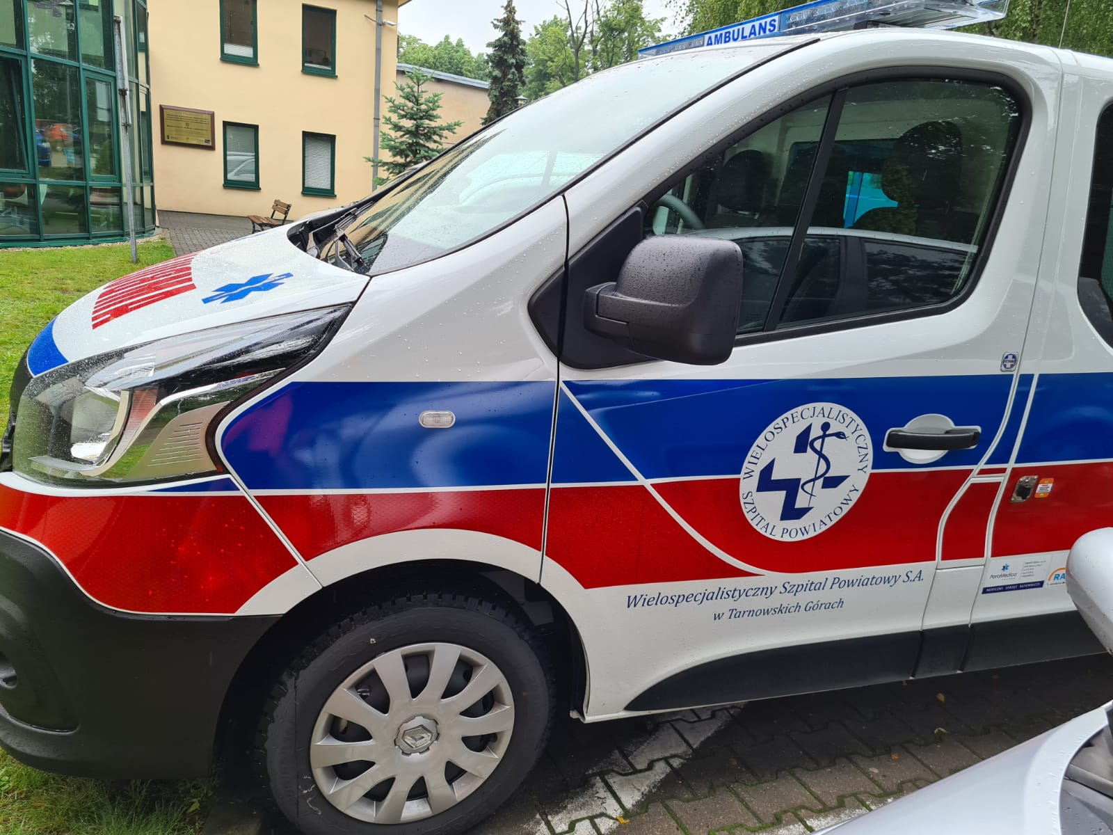 Nowy ambulans dla Szpitala!