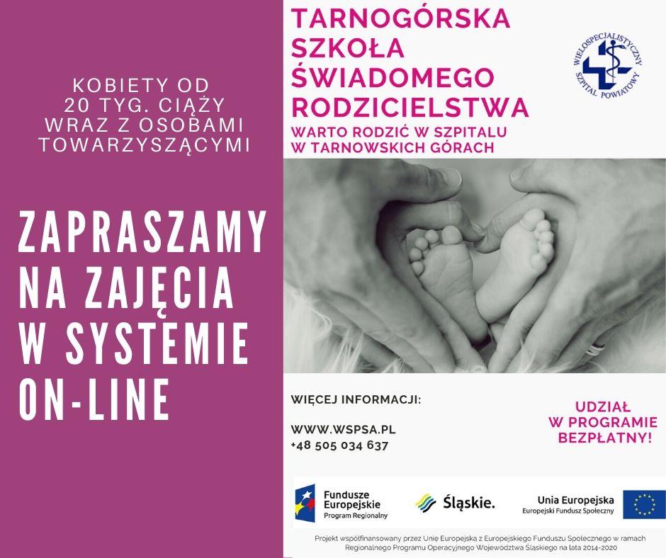 Tarnogórska Szkoła Świadomego Rodzicielstwa – zajęcia online!