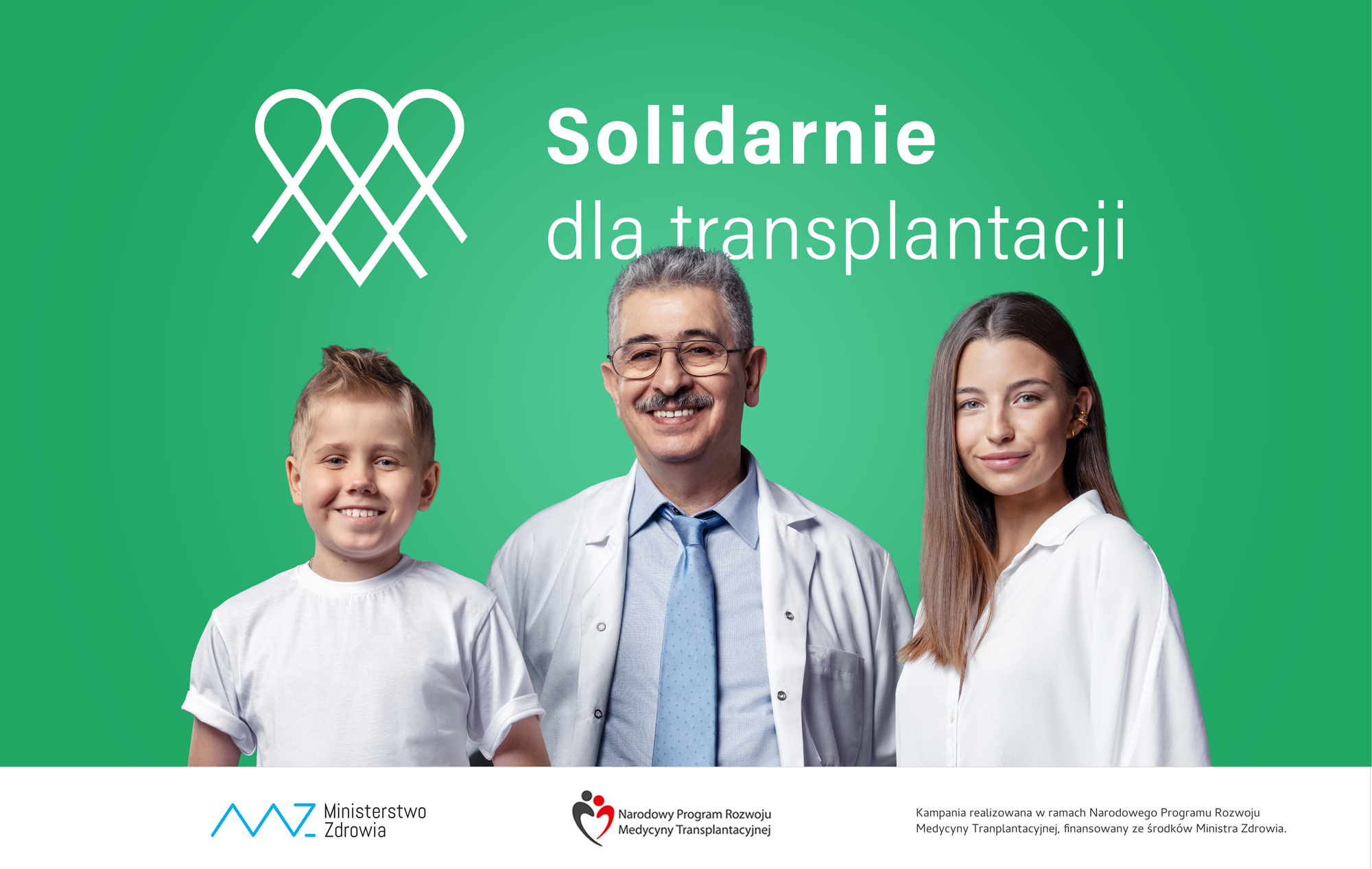Solidarnie dla transplantacji – kampania informacyjno-edukacyjna
