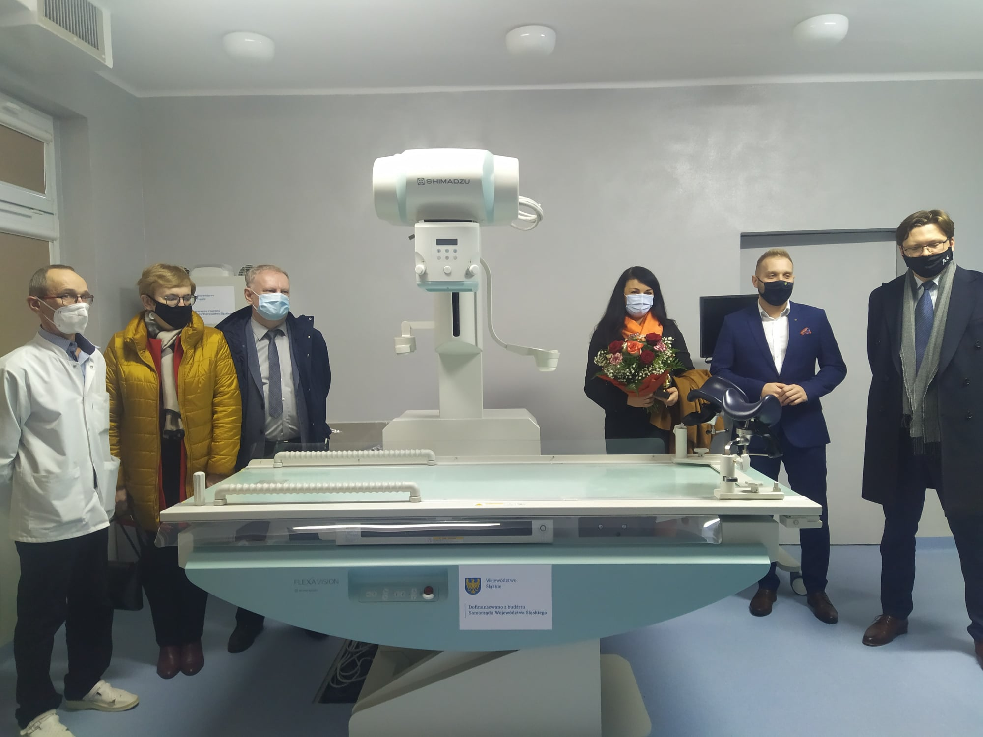Zakład Diagnostyki Obrazowej z nowym aparatem RTG