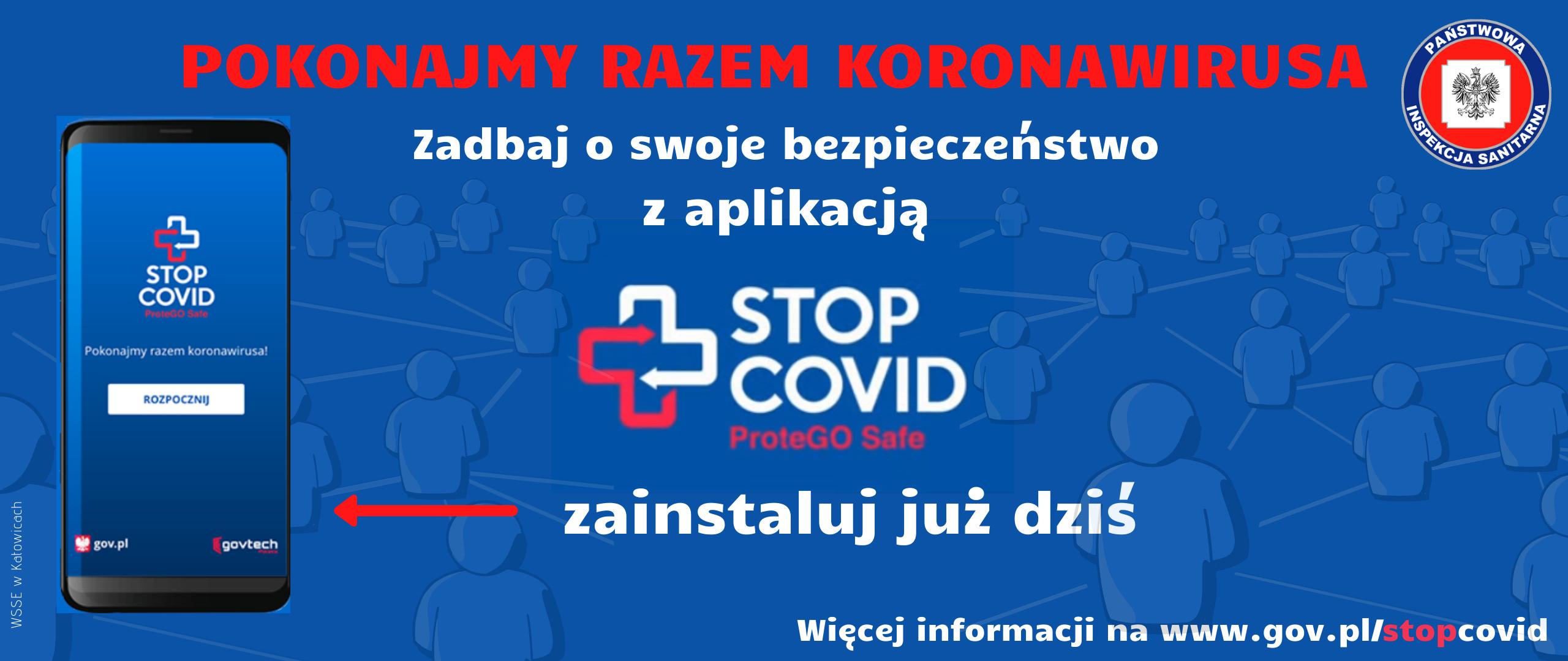 STOP COVID ProteGO Safe – aplikacja