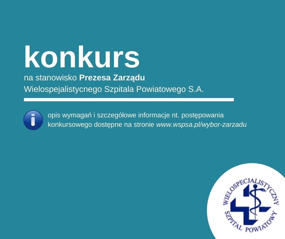 Konkurs na Prezesa Zarządu WSP S.A.