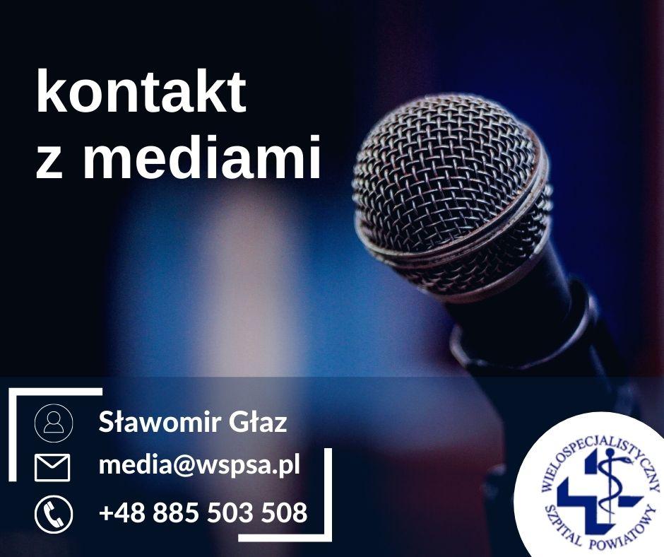 Nowy kontakt dla mediów!